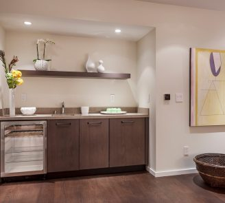 contemporary kitchenette